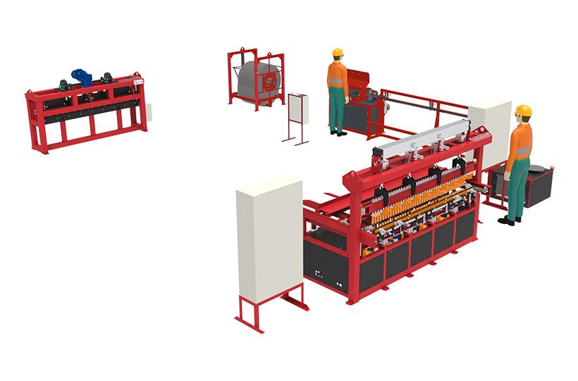 Производственная линия RDN-720 на базе RLM