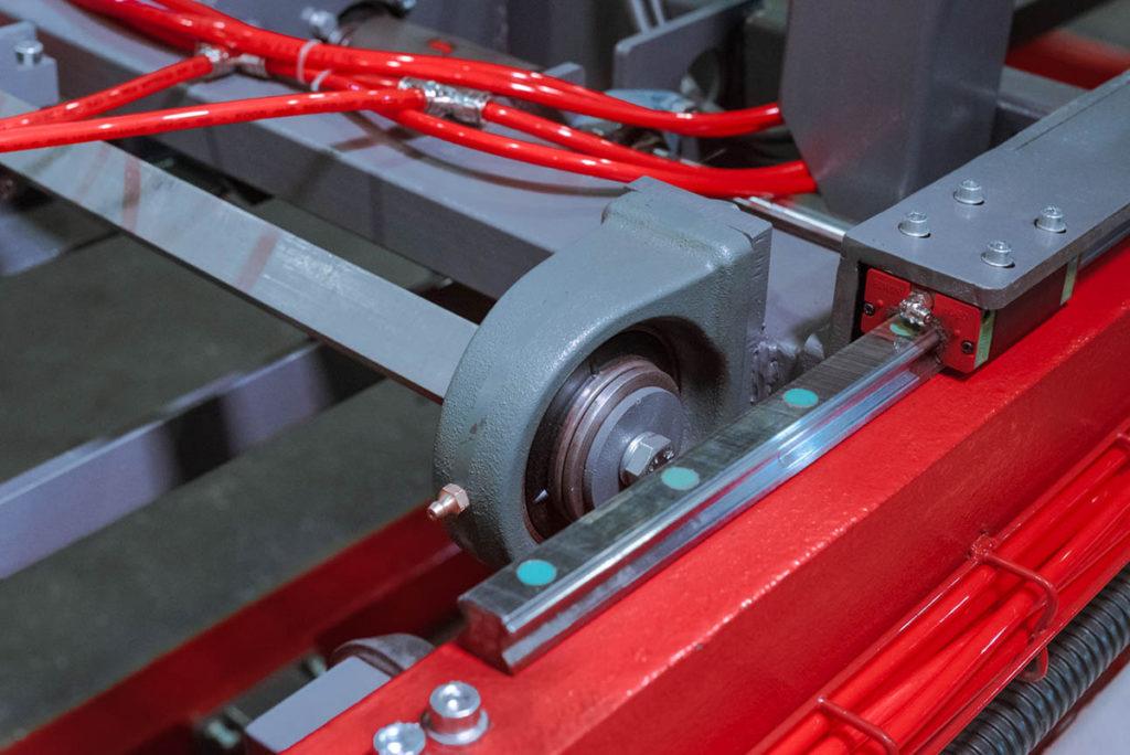 Полуавтоматическая линия LTDK (мерные + мерные) для сварки плоских каркасов с прутков Фото-2813