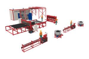 Производственная линия 3DRDN-1200 для заборов 3D под ключ