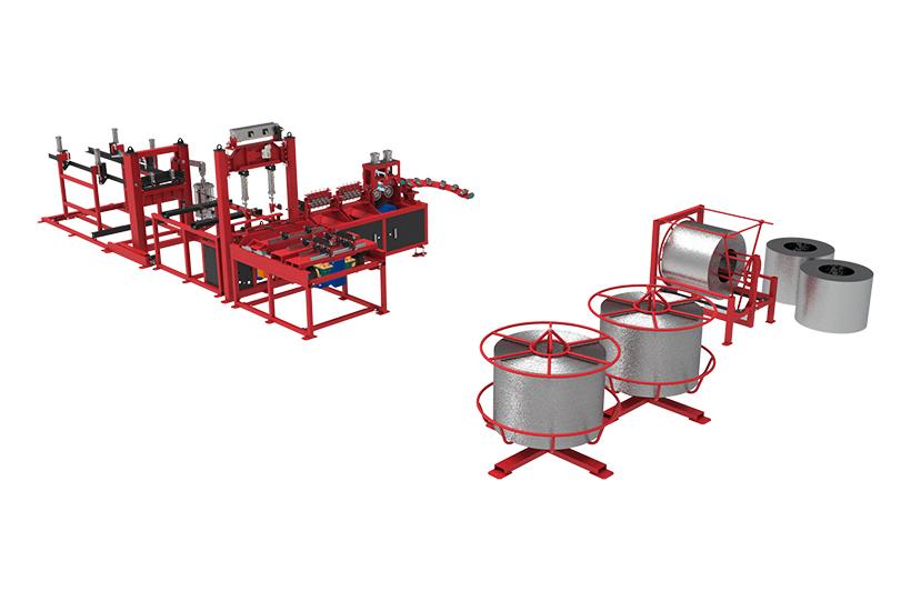 Автоматическая линия для сварки двухветвевых каркасов серии ALDK