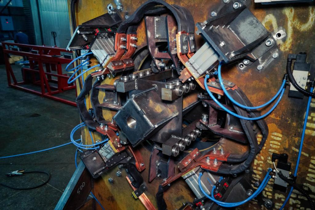 Установка навивки каркасов свай серии SNM Фото-1617