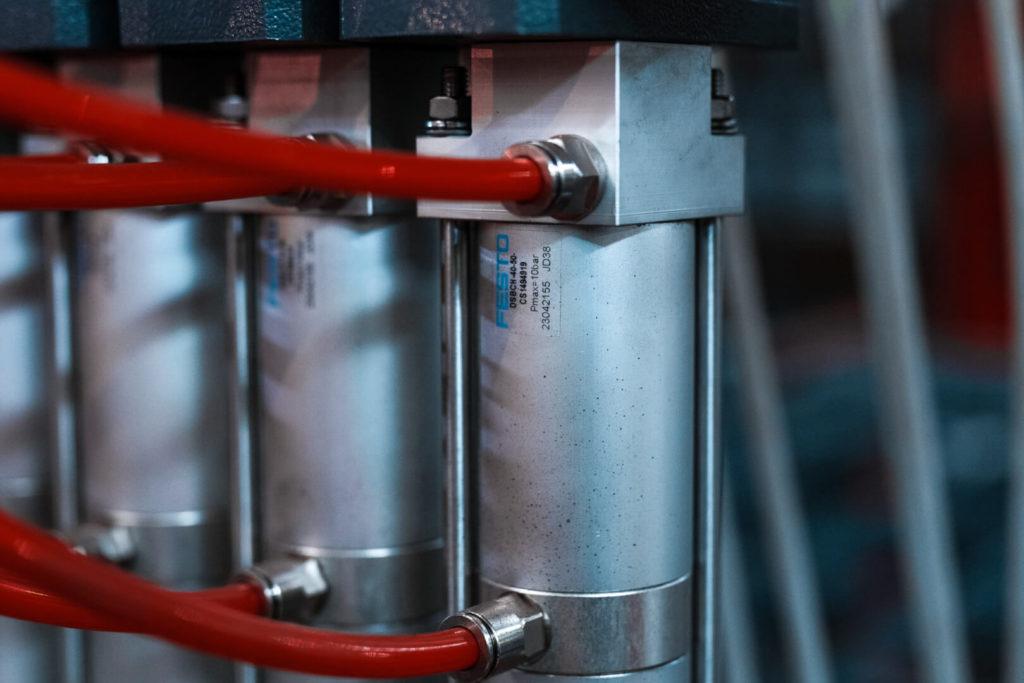 Полуавтоматическая линия сварки сеток в кондукторе серии PALK Фото-1699
