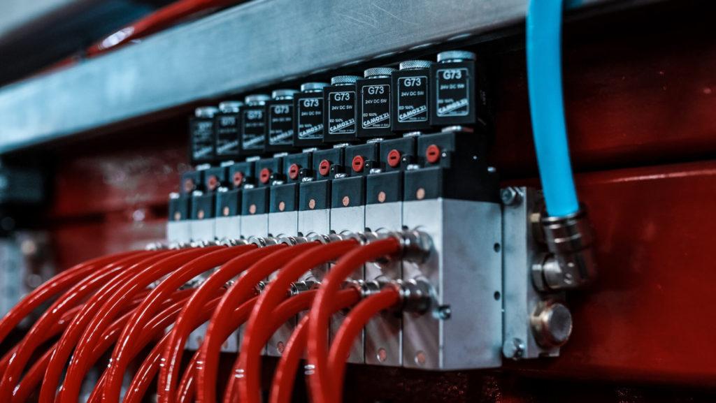 Полуавтоматическая линия сварки сеток в кондукторе серии PALK Фото-1700