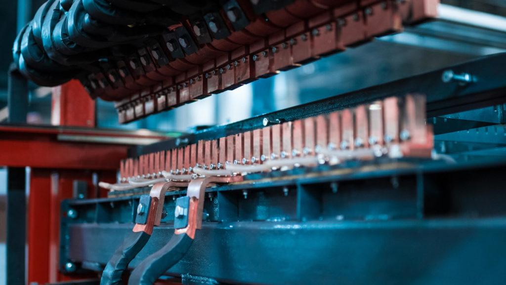 Полуавтоматическая линия сварки сеток в кондукторе серии PALK Фото-1703