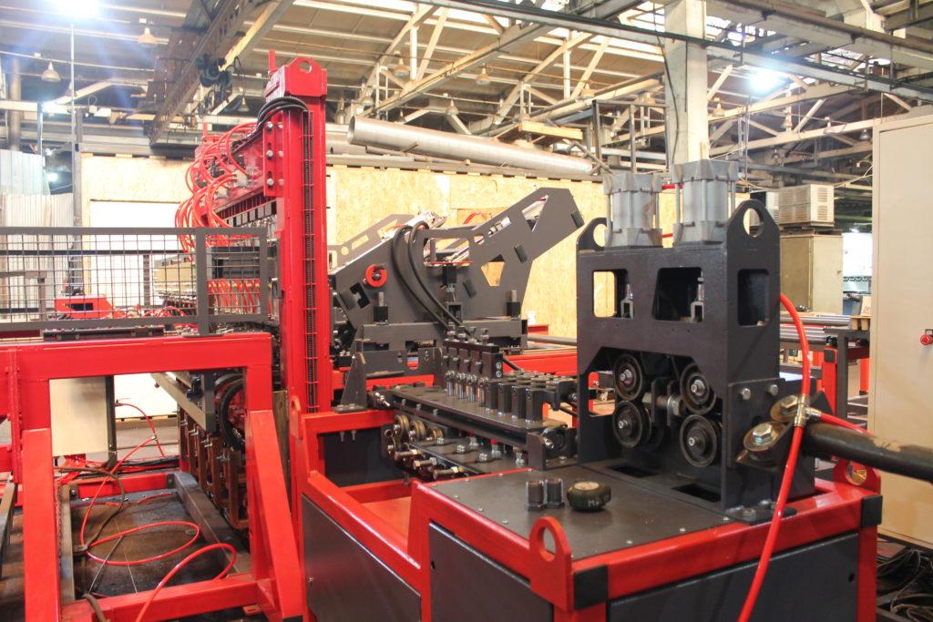 Автоматическая линия ALDK (мерные + бухты) для сварки плоских каркасов Фото-3993