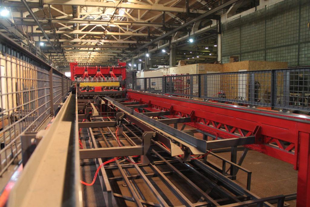 Автоматическая линия ALDK (мерные + бухты) для сварки плоских каркасов Фото-3989