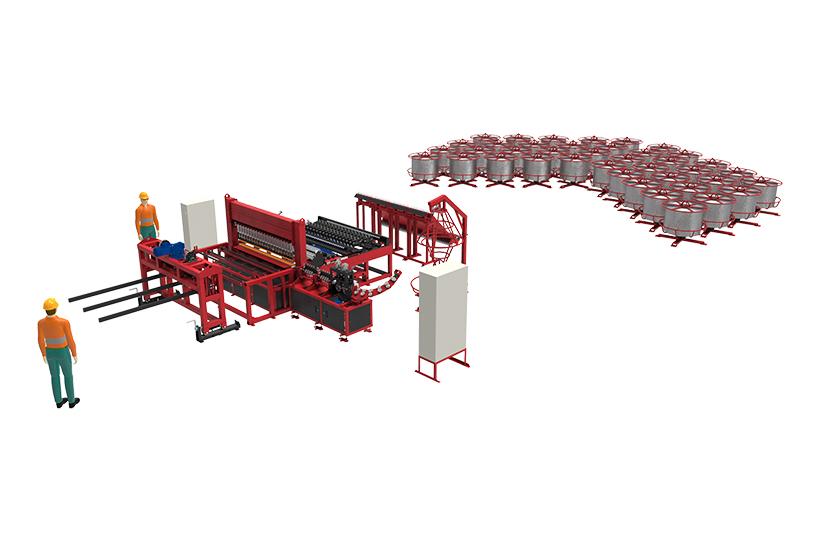 Производственная линия RDN-3500 на безе AL Economy