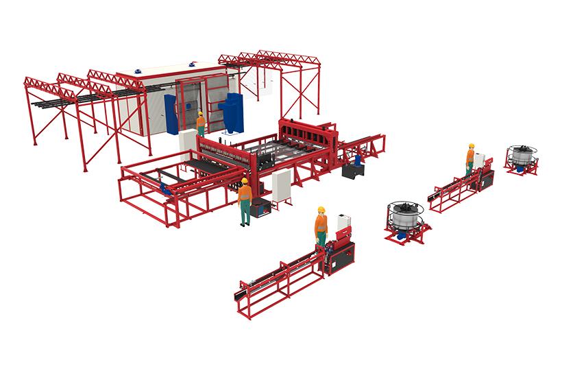 Производственная линия 3DRDN-2700