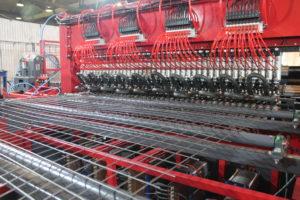 Многоконтактная машина для производства сварной сетки