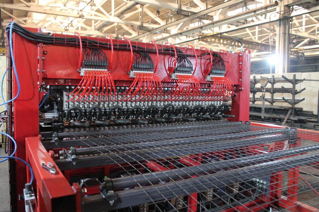 Сварочный станок автоматический для сварки сетки из проволоки