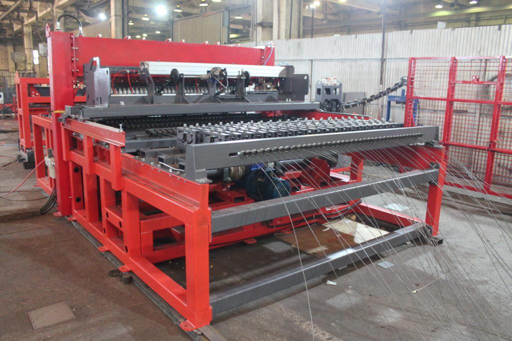 Автоматическая машина сварки кладочной сетки AL optimum
