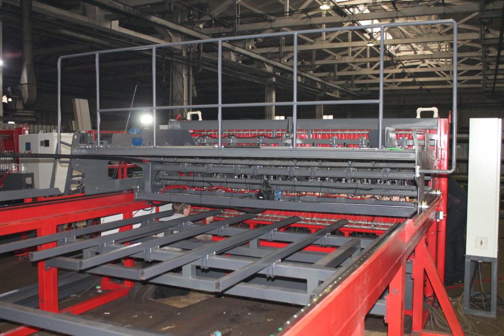 Многоэлектродные сварочные машины 3DPAL для производства заборной сетки