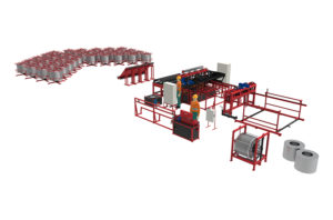 Производственная линия RDN-3000 на базе PALBB