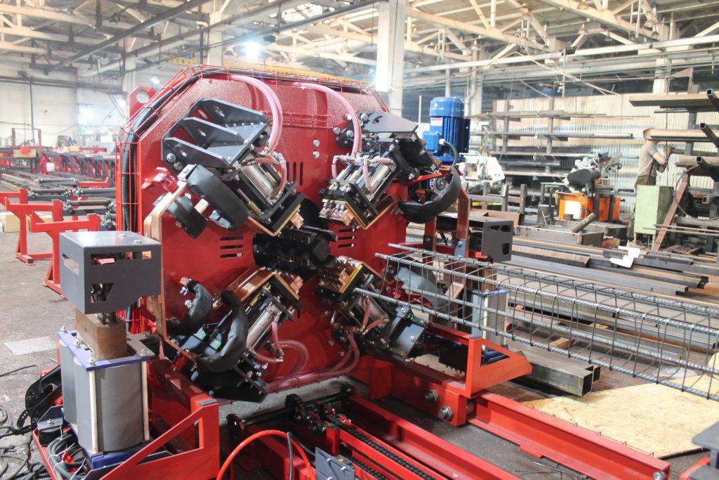 Сваенавивочная машина MSNM для навивки и сварки каркасов мини-свай Фото-4061