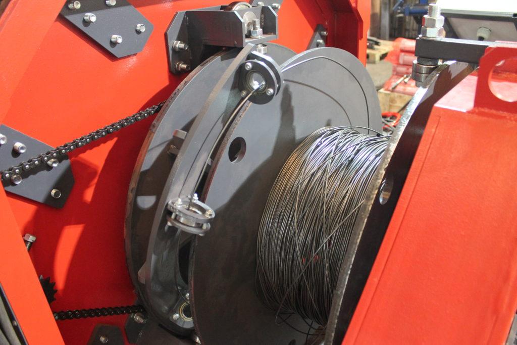 Сваенавивочная машина MSNM для навивки и сварки каркасов мини-свай Фото-4062