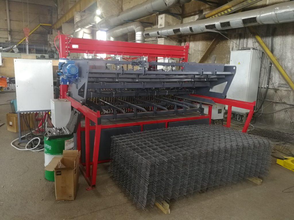 Изготовление сварной кладочной сетки линия PAL экономичное производство RODEN