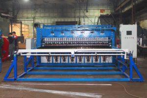 Многоточечная сварка заборной сетки 3д линия WLF-SA