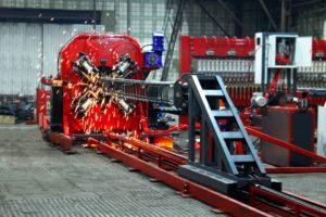 сваенавивочная машина SNM-16 для каркасов свай станок свайных каркасов