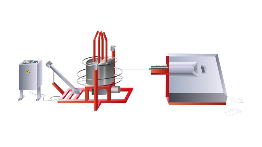 Автоматический станок 3D гибки арматуры GY-3D