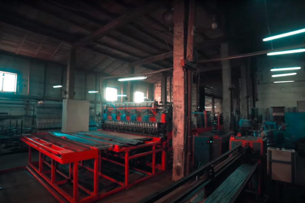 Станок сварки сетки заборной 3д под ключ Производство ограждений 3D бизнес план