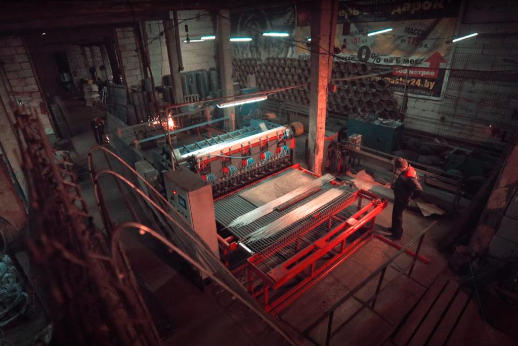 Комплект оборудования под ключ для изготовления заборов 3Д сварных ограждений из проволоки