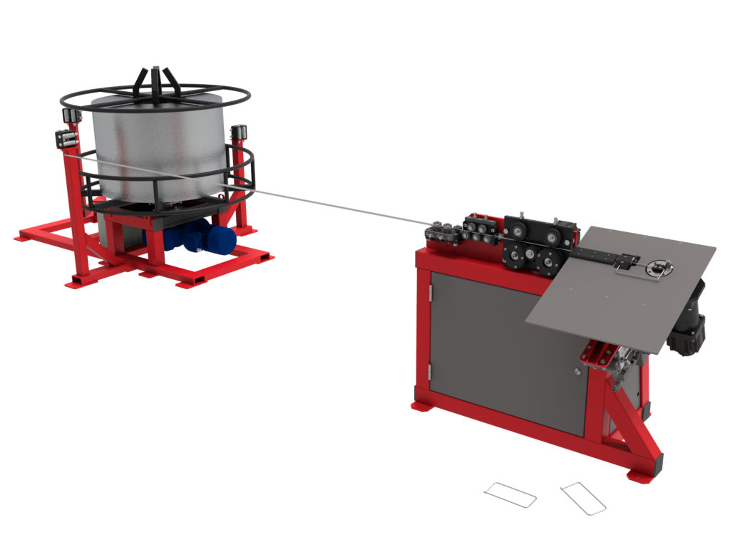 Автоматический станок 2D гибки проволоки GY-2DS