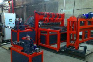 Автоматическая машина AL optimum сварки кладочной сетки производительностью 3500 кв. м