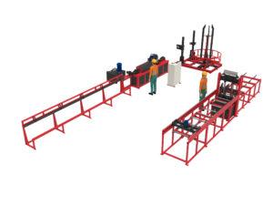 Производственная линия TRDN-560 на базе LTDK