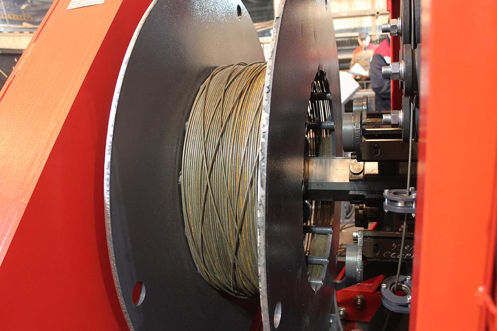 Сваенавивочная машина SNM для навивки и сварки каркасов свай Фото-4095