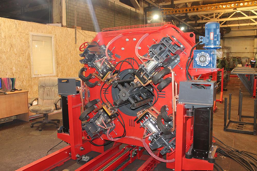 Сваенавивочная машина SNM для навивки и сварки каркасов свай Фото-4097