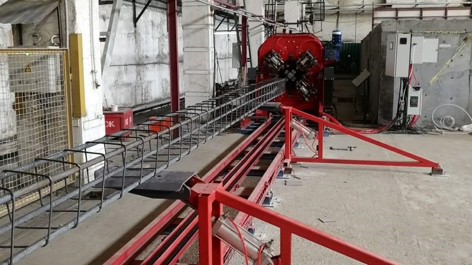 Оборудование для арматурных каркасов SNM