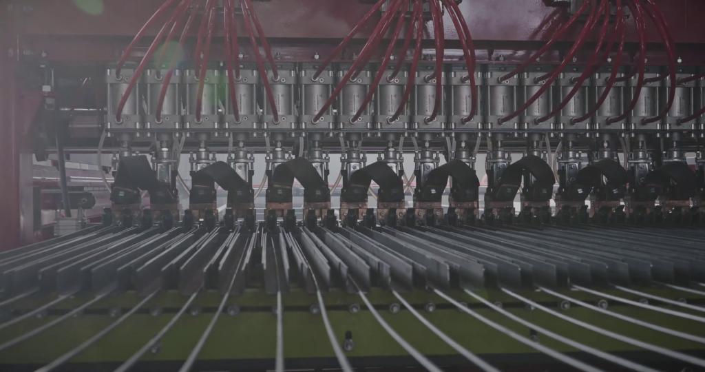 Сварочный портал производственная линия 3DRDN производительностью 2700 кв. м для заборов 3D под ключ