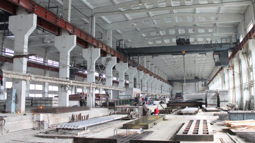 Формовочный цех ЖБИ КПД ДСК бетоноукладчики СМЖ оборудование изготовления жби