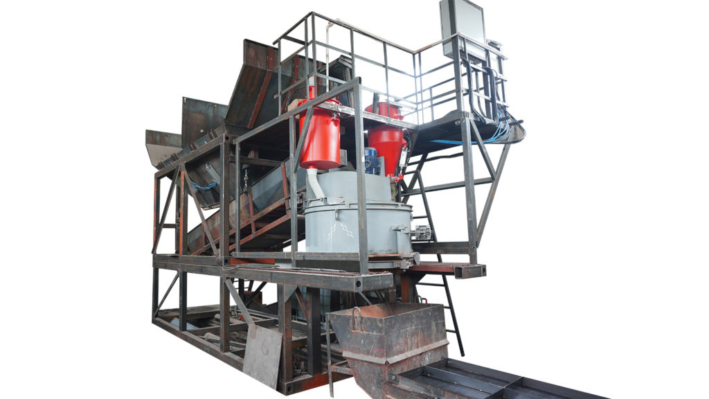 Мини бетонный завод (узел)