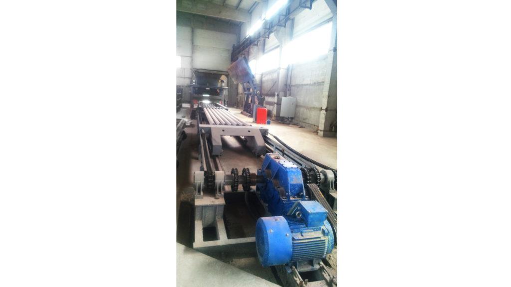 оборудование для производства плит перекрытия Линия безопалубочного формования