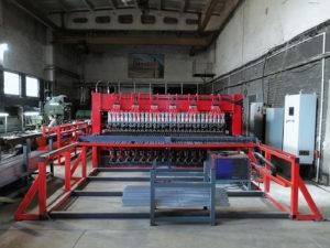 Цех производства заборов 3D и ограждений Москва линия сварки 3DPAL формирователь ребра жесткости печь полимеризации