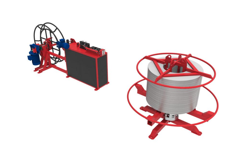 Перемоточное устройство для мини-бухт PPB