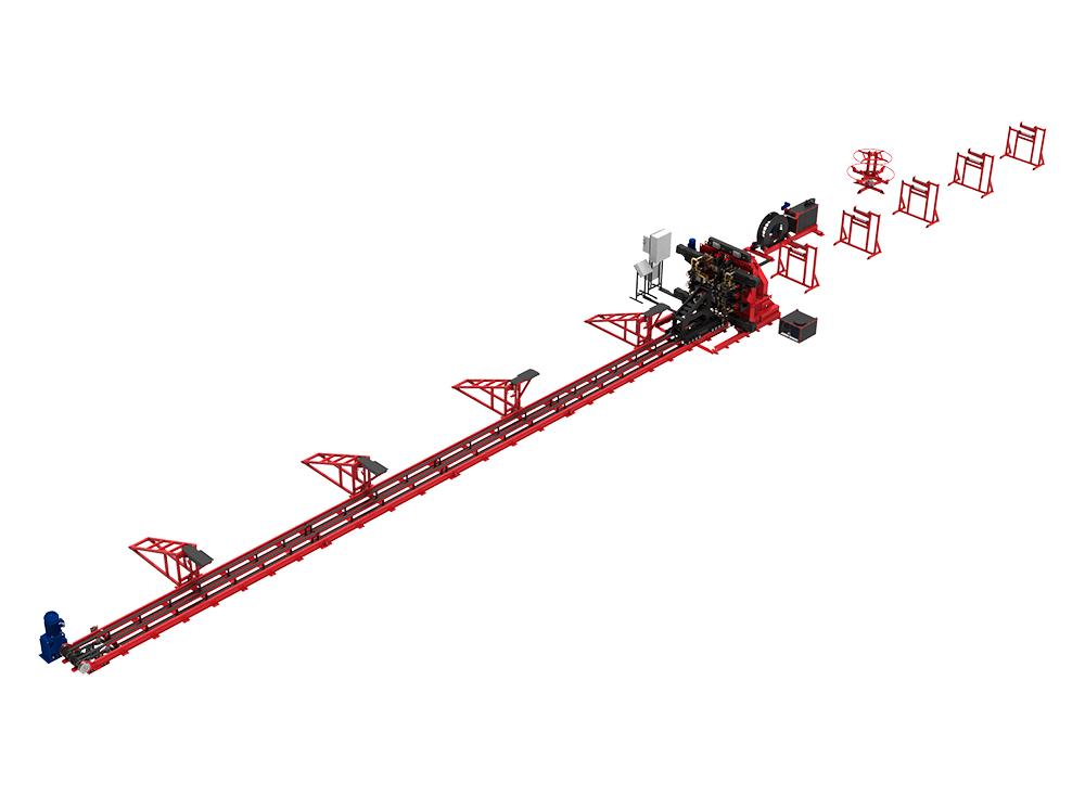 Универсальная сваенавивочная машина USNMT для сварки каркасов мостовых свай