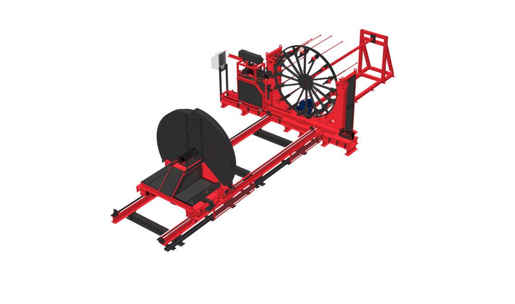 Сваенавивочная машина WSR для навивки и сварки каркасов свай